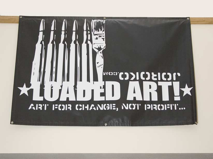 Loaded Art Joroko.com 4 ft. x 6 ft. vinyl banner